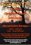 Warwickshire Baroque Christmas Concert poster
