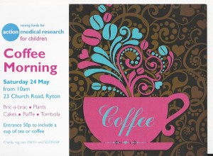 Action Coffee Morning Ad