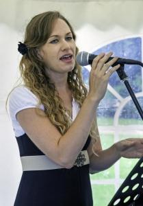 Gebby Sings at Fête CONGA