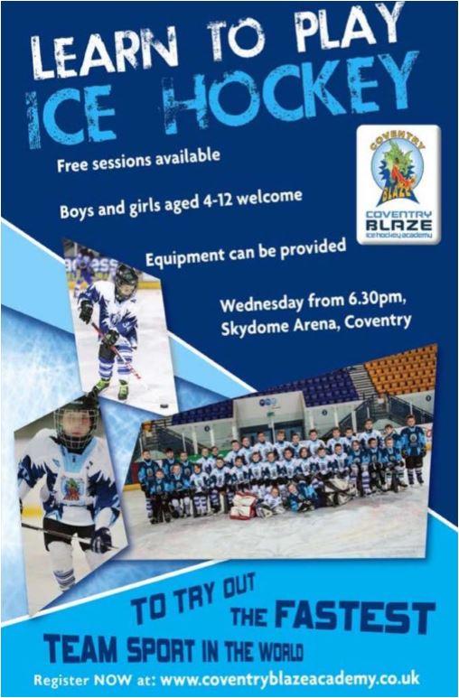 Coventry Blaze Ice Hockey Academy