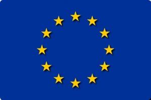 The flag of European Union