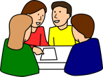 Group Round a Table