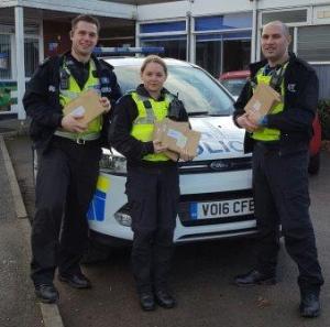 Local police deliver Rogue Trader surveys